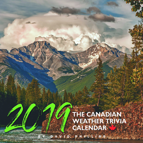 Canadian Weather Trivia Calendar 2019